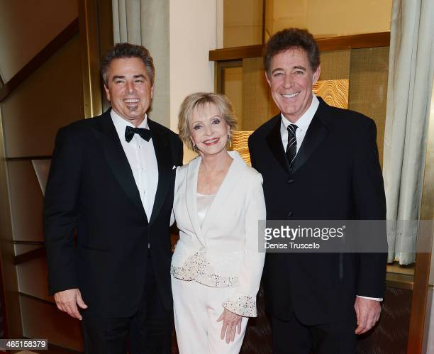 Christopher Knight Florence Henderson and Barry Williams arrive at Neveda Ballets Woman Of The cocktail party at Cartier at Crystals in City Center...