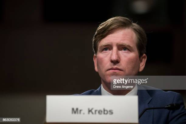 Christopher Krebs senior official performing the duties of the under secretary for the National Protection and Programs Directorate in the Department...