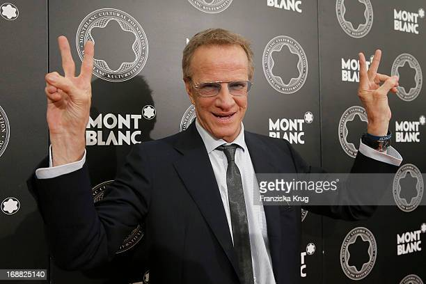 Christopher Lambert attends at the Montblanc Vernissage 'Ulla von Brandenburg Das Versteck des WL' at Galerie der Gegenwart on May 15 2013 in Hamburg...