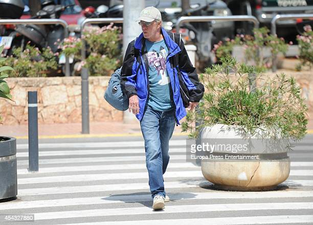 Christopher Lambert is seen on August 29 2014 in Ibiza Spain