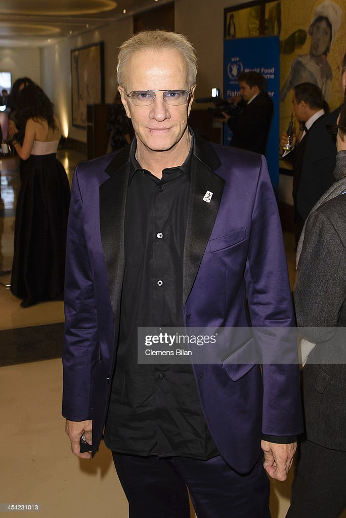 <a gi-track='captionPersonalityLinkClicked' href=/galleries/search?phrase=Christopher+Lambert&family=editorial&specificpeople=240500 ng-click='$event.stopPropagation()'>Christopher Lambert</a> poses at the aftershow party of the European Film Awards 2013 on December 7, 2013 in Berlin, Germany.