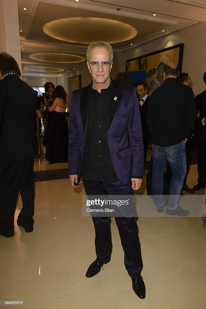 Christopher Lambert poses at the aftershow party of the European Film Awards 2013 on December 7, 2013 in Berlin, Germany.