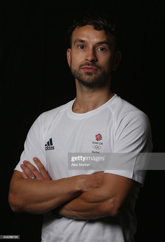 Christopher Langridge of Team GB during the Announcement of Badminton Athletes Named in Team GB for the Rio 2016 Olympic Games at the National Badminton Centre on June 27, 2016 in Milton Keynes, England.