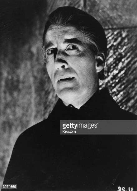 Christopher Lee as Dracula from the film 'Dracula Has Risen From The Grave' directed by Freddie Francis for Hammer