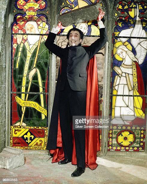 Christopher Lee stars as the resurrected vampire Dracula in 'Taste the Blood of Dracula' 1970
