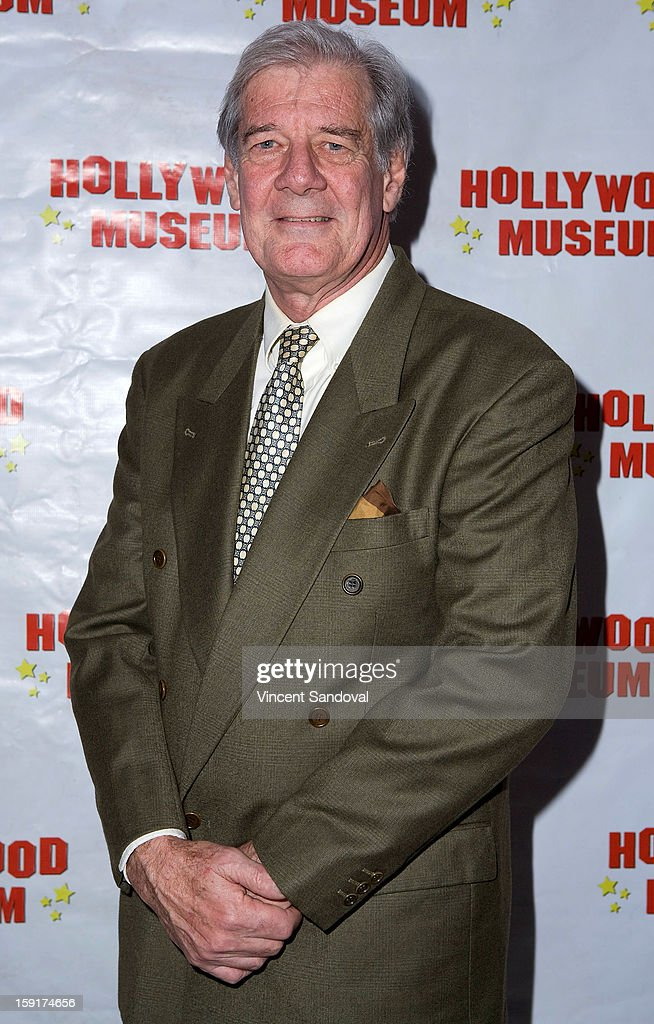 Christopher Lewis, son of Loretta Young attends The Hollywood Museum's 'Loretta Young: Hollywood Legend' exhibit opening party at The Hollywood Museum on January 8, 2013 in Hollywood, California.