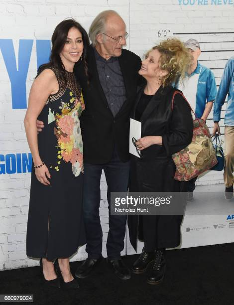 Christopher Lloyd and Carol Kane attend the 'Going In Style' New York Premiere at SVA Theatre on March 30 2017 in New York City