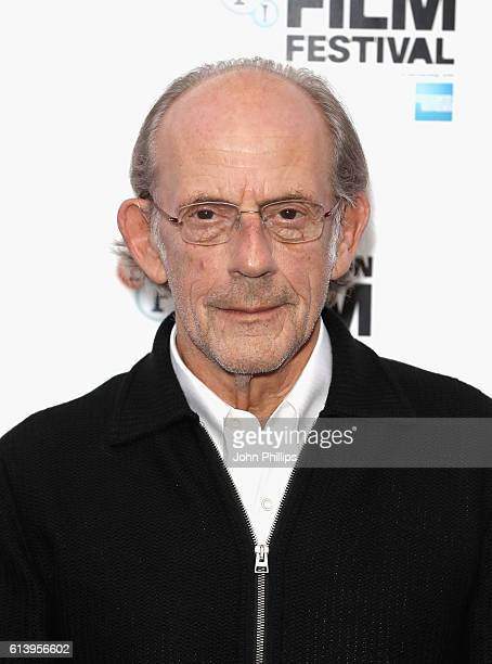 Christopher Lloyd attends the 'I Am Not A Serial Killer' screening during the 60th BFI London Film Festival at Prince Charles Cinema on October 11...