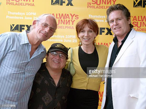 Christopher Lloyd Danny DeVito Marilu Henner and Jeff Conaway