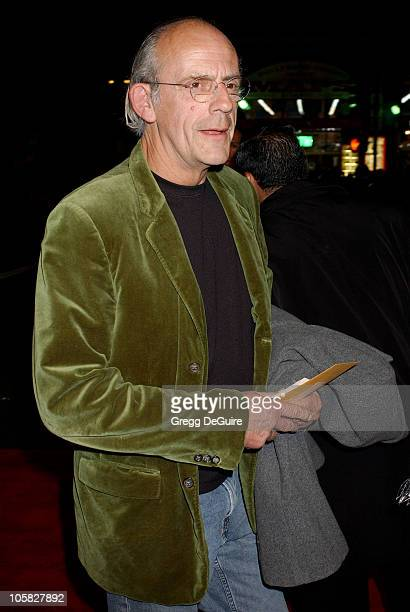 Christopher Lloyd during 'Alexander' Los Angeles Premiere Arrivals at Grauman's Chinese Theatre in Hollywood California United States