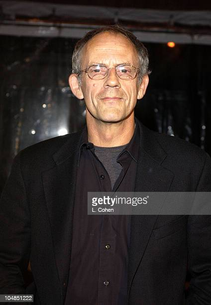 Christopher Lloyd during 'Back To The Future' Reunion And DVD Launch Party at Universal backlot in Universal City California United States
