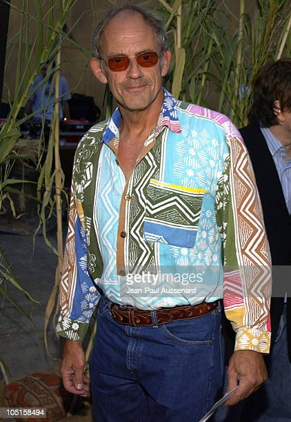 Christopher Lloyd during 'Jeepers Creepers 2' Los Angeles Premiere in Hollywood California United States
