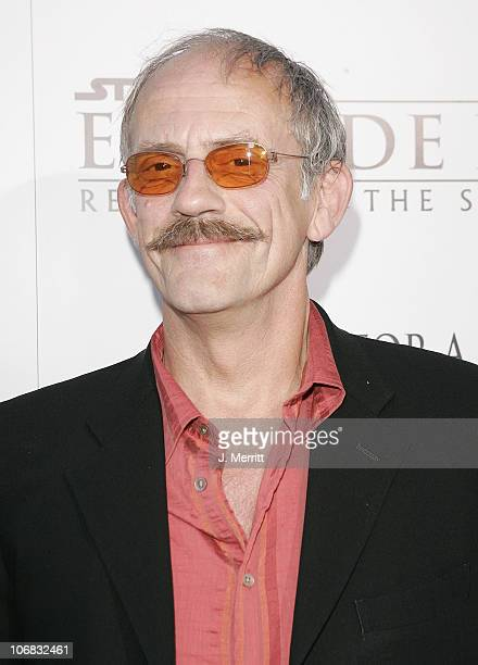 Christopher Lloyd during 'Star Wars Episode III Revenge of The Sith' Premiere to Benefit Artists for a New South Africa Charity Arrivals at Mann...