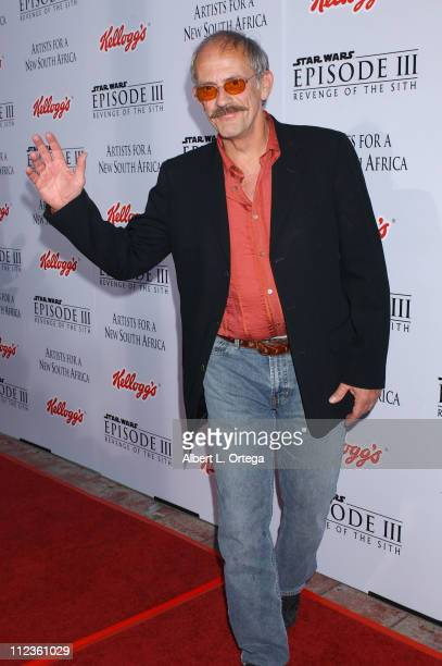 Christopher Lloyd during 'Star Wars Episode III Revenge of The Sith' Premiere to Benefit Artists for a New South Africa Charity Arrivals at Mann's...