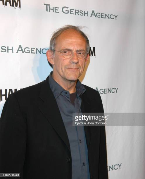 Christopher Lloyd during The Gersh Agency and Gotham Magazine Celebrate 2005 New York UpFronts at Bed in New York City New York United States