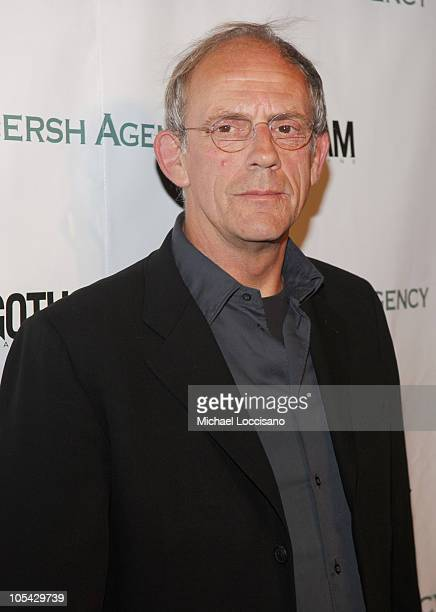 Christopher Lloyd during The Gersh Agency Celebrates New York Upfronts with Gotham Magazine at BED in New York City New York United States