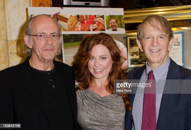 Christopher Lloyd Melissa Archer and Ric Klass attend the 'Excuse Me For Living' Friars Club Luncheon on October 9 2012 in New York City