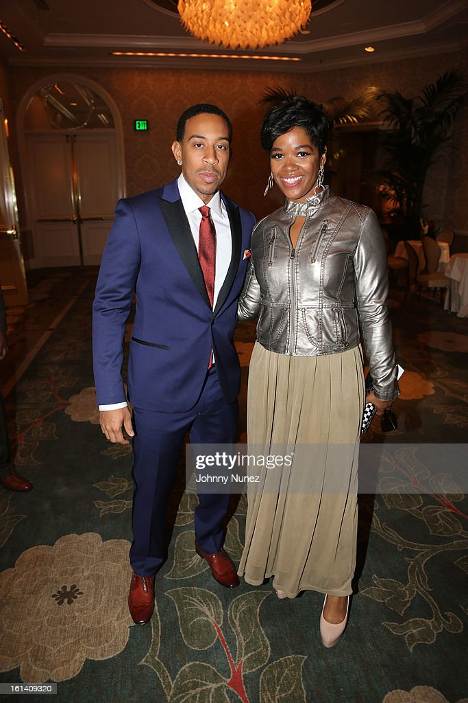 Christopher 'Ludacris' Bridges and Peniece LeGalla attend The 9th Annual Bryan-Michael Cox/SESAC Brunch Honoring Ludacris at Four Seasons Hotel Los Angeles at Beverly Hills on February 10, 2013 in Beverly Hills, California.