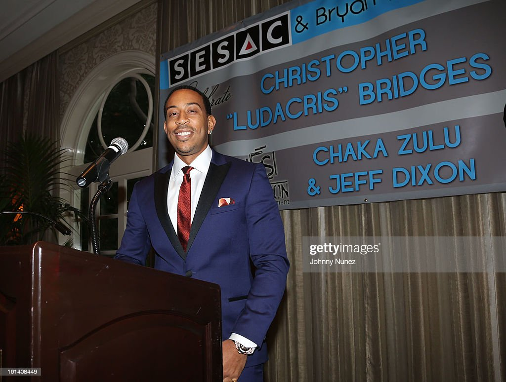 Christopher 'Ludacris' Bridges attends The 9th Annual Bryan-Michael Cox/SESAC Brunch Honoring Ludacris at Four Seasons Hotel Los Angeles at Beverly Hills on February 10, 2013 in Beverly Hills, California.