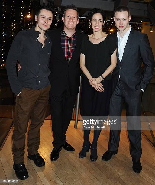 Christopher Marney Matthew Bourne Nina Goldman and Richard Winsor attend the press night of Matthew Bourne's Swan Lake at Sadler's Wells on December...