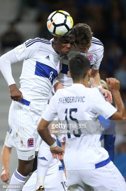 Christopher Martins Pereira of Luxembourg during the FIFA 2018 World Cup Qualifier between France and Luxembourg at the Stadium on September 3 2017...