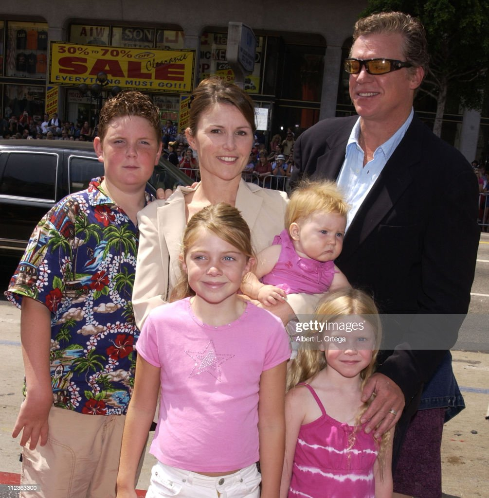 Christopher McDonald and family during 'Spy Kids 2 The Island Of Lost Dreams' Premiere at Grauman's Chinese Theatre in Hollywood California United...