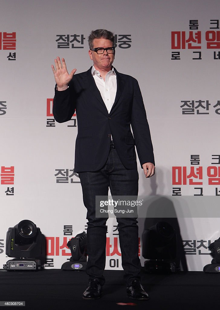 Christopher McQuarrie attends the Press Conference and Photocall of 'Mission: Impossible - Rogue Nation' at the Grand Intercontinental Seoul Hotel at on July 30, 2015 in Seoul, South Korea.