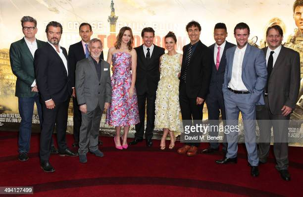 Christopher McQuarrie Dragomir Mrsic Tom Lassally Erwin Stoff Emily Blunt Tom Cruise Charlotte Riley Doug Liman Franz Drameh Jonas Armstrong and Tony...
