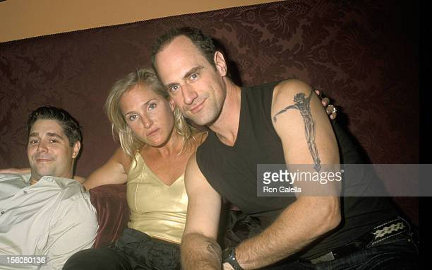 Christopher Meloni and Guests during Landmark Club Restaurant Opening Richard Belzer's Birthday Party September 23 2000 at Landmark Club Restaurant...