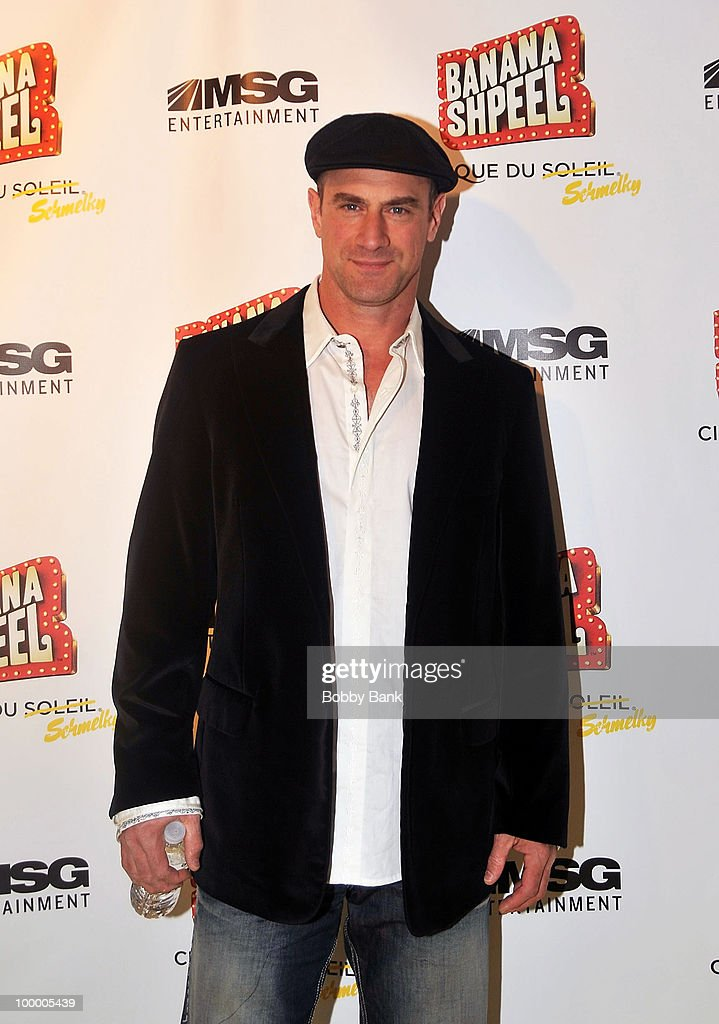 Christopher Meloni attends the opening night of Cirque du Soleil's 'Banana Shpeel' at the Beacon Theatre on May 19, 2010 in New York City.