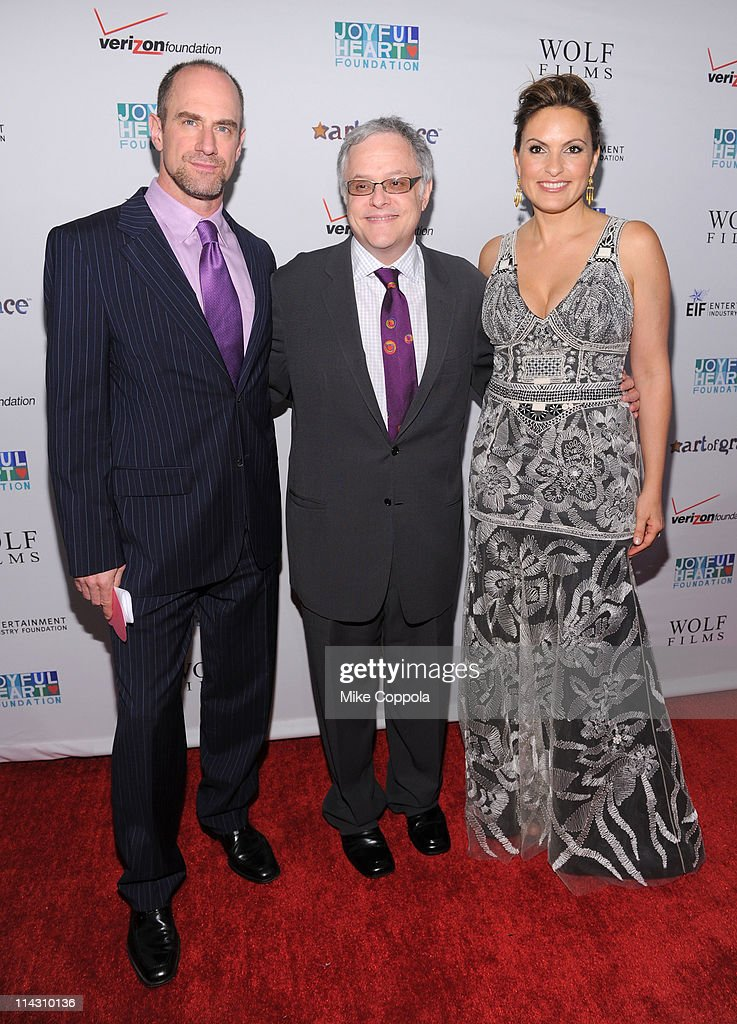 Christopher Meloni, Dr. Neal Baer and Mariska Hargitay attend the 2011 Joyful Heart Foundation Gala at The Museum of Modern Art on May 17, 2011 in New York City.