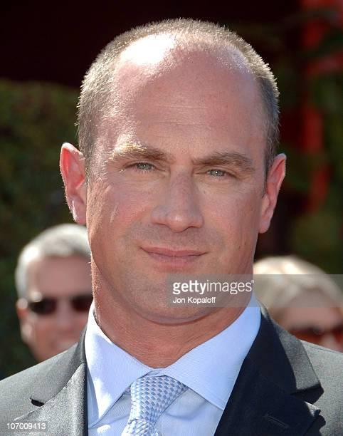 Christopher Meloni during 58th Annual Primetime Emmy Awards Arrivals at Shrine Auditorium in Los Angeles California United States