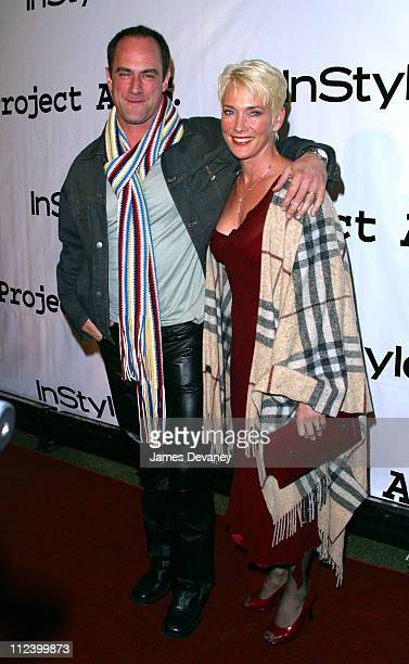 Christopher Meloni wife Sherman during Project ALS 5th Annual New York City Gala 'Tomorrow is Tonight' Benefit at Roseland in New York City New York...
