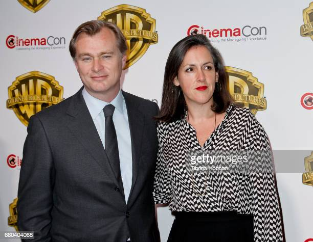 Christopher Nolan and Emma Thomas attends Warner Bros Pictures 'The Big Picture' an exclusive presentation of our upcoming slate at The Colosseum at...