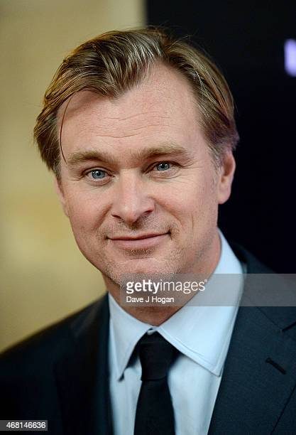 Christopher Nolan attends 'Interstellar Live' at Royal Albert Hall on March 30 2015 in London England