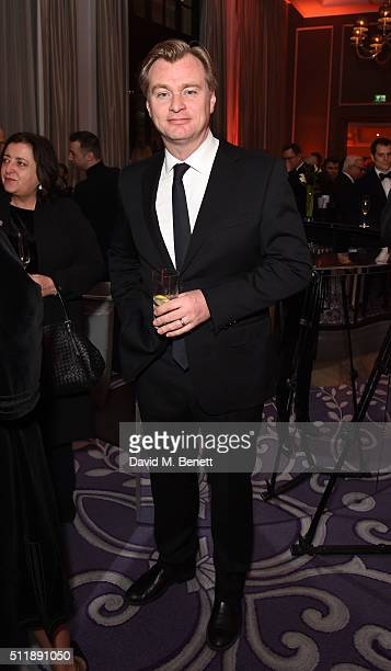 Christopher Nolan attends the BFI Chairman's Dinner at The Corinthia Hotel on February 23 2016 in London England