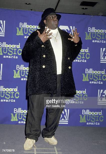 Christopher 'Notorious BIG' Wallace in New York City New York