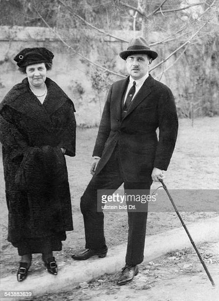 Christopher of Greece and Denmark Prince Greece*10081888The Prince with his first wife Princess Anastasia ca 1925 Photographer Walter GirckeVintage...