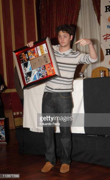 Christopher of RBD during RBD Press Conference in Madrid January 8 2007 at Palace Hotel in Madrid Spain