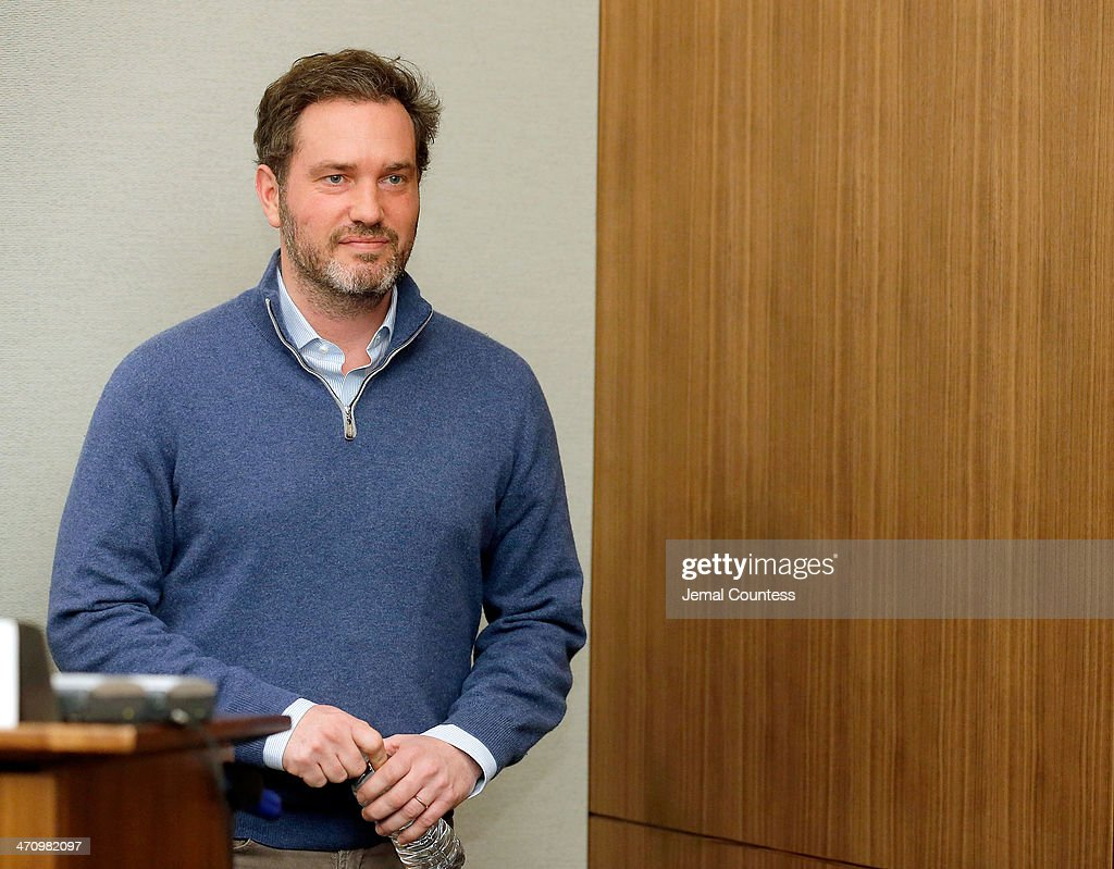Christopher O'Neill, husband of H.R.H. Princess Madeleine of Sweden speaks at a press conference to discuss the details of the birth of his newborn daughter at NewYork-Presbyterian/ Weill Cornell Medical Center on February 21, 2014 in New York City. The 31-year-old Princess, whose full title is Madeleine Therese Amelie Josephine, Princess of Sweden, Duchess of Halsingland and Gastrikland, is fourth in line to the throne of Sweden. She married US-British banker Christopher O'Neill in June, and the couple announced in September that they were expecting their first child. 'The Office of the Marshal of the Realm is delighted to announce that H.R.H. Princess Madeleine gave birth to a daughter on February 20, 2014 at 10.41 pm local time New York,' the Swedish court said. 'Both mother and child are in good health.'