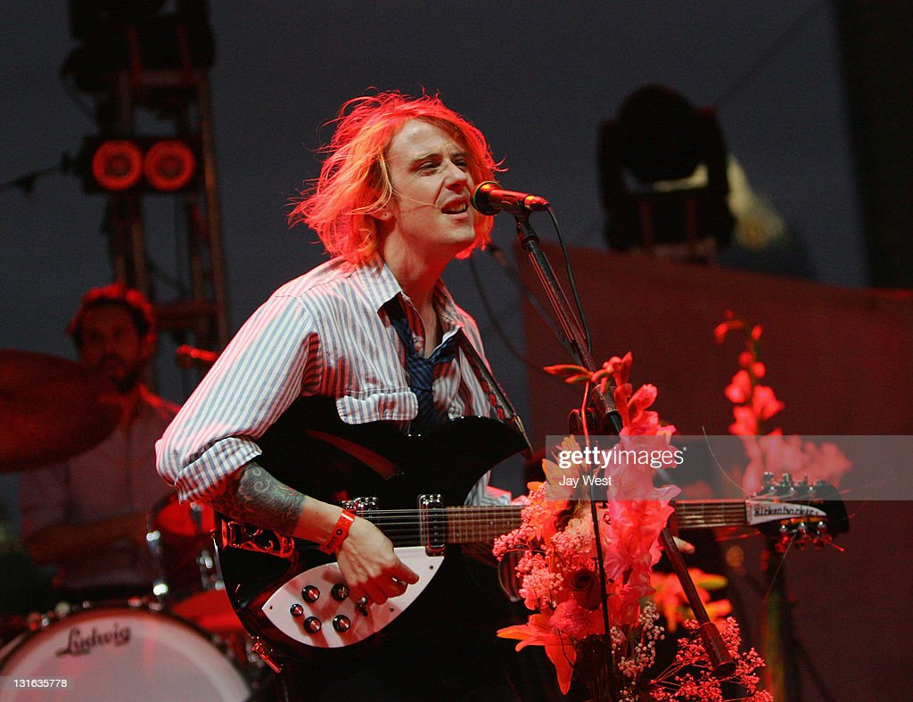 Christopher Owens of Girls performs in conccert on day two of Fun Fun Fun Fest at Auditorium Shores on November 5, 2011 in Austin, Texas.