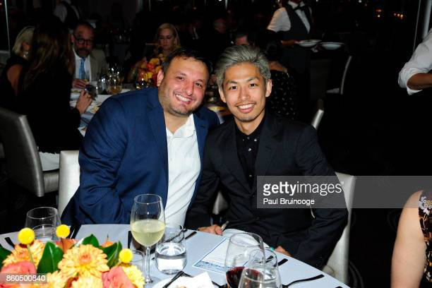 Christopher Pape and Nori Inoguchi attends the Decoration and Design Building celebrates the 2017 winners of the DDB's 10th Anniversary of Stars of...