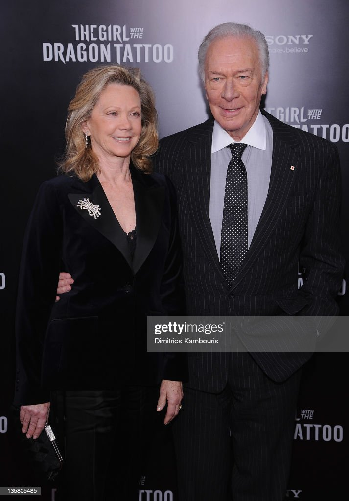 <a gi-track='captionPersonalityLinkClicked' href=/galleries/search?phrase=Christopher+Plummer&family=editorial&specificpeople=215208 ng-click='$event.stopPropagation()'>Christopher Plummer</a> and guest attend the 'The Girl With the Dragon Tattoo' New York premiere at Ziegfeld Theater on December 14, 2011 in New York City.