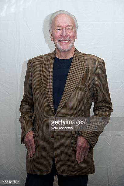 Christopher Plummer at the 'Remember' Press Conference at the Fairmont Royal York on September 13 2015 in Toronto Ontario