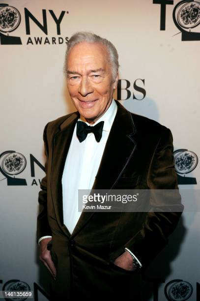 Christopher Plummer attends the 66th Annual Tony Awards at The Beacon Theatre on June 10 2012 in New York City