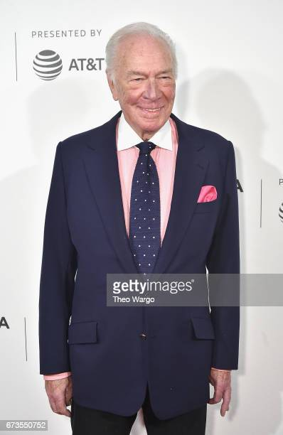Christopher Plummer attends the 'The Exception' Premiere 2017 Tribeca Film Festival at the BMCC Tribeca PAC on April 26 2017 in New York City