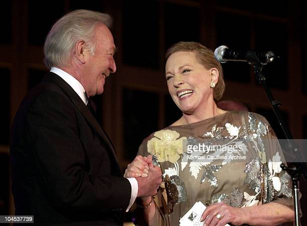 Christopher Plummer Julie Andrews during 10th Annual Ella Award Presented to Dame Julie Andrews at Beverly Hilton Hotel in Beverly Hills California...