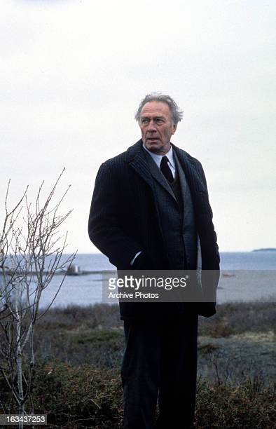 Christopher Plummer outside looking to his right in a scene from the film 'Dolores Claiborne' 1995