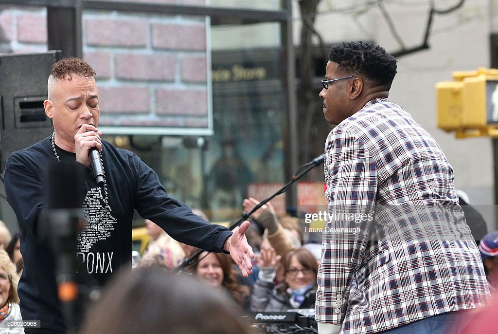 <a gi-track='captionPersonalityLinkClicked' href=/galleries/search?phrase=Christopher+Reid&family=editorial&specificpeople=779236 ng-click='$event.stopPropagation()'>Christopher Reid</a> and Christopher Martin of Kid 'n Play perform on NBC's 'Today' at Rockefeller Plaza on April 29, 2016 in New York City.