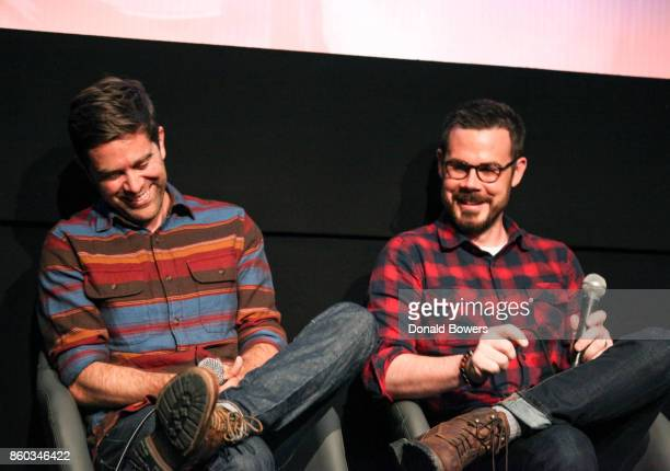 Christopher Rogers and Christopher Cantwell attend The 'Halt And Catch Fire' Screening And Panel at IFC Center on October 11 2017 in New York City